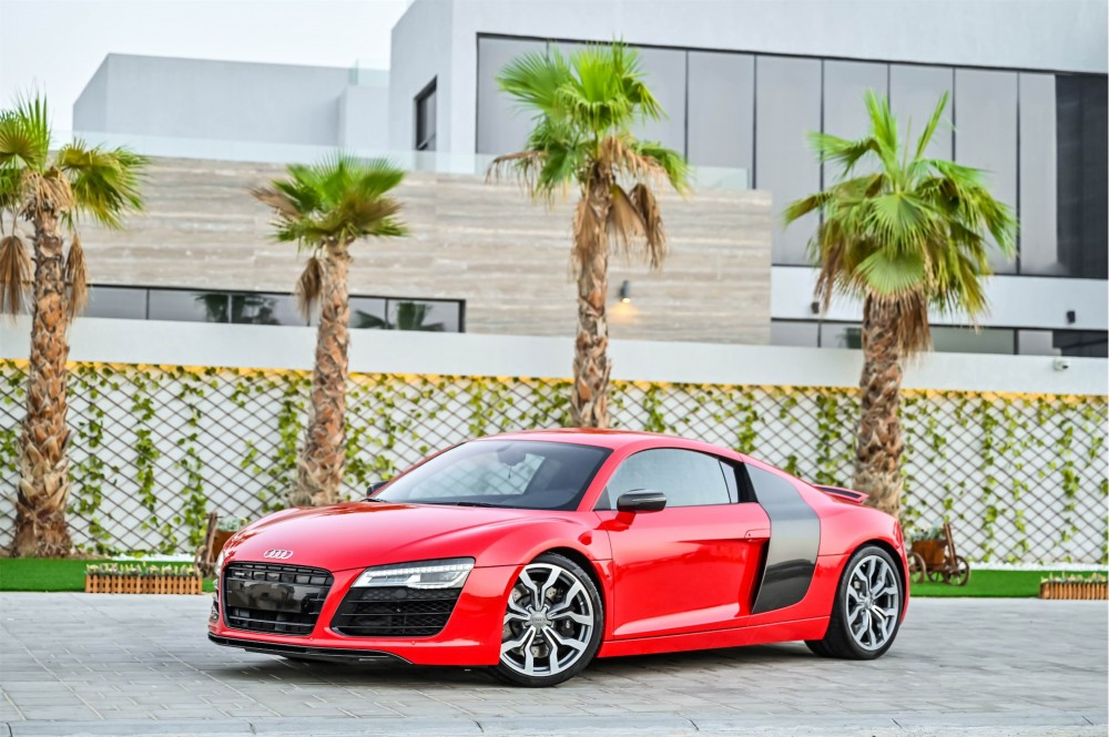 buy slightly used Audi R8 4.2L V8 without downpayment