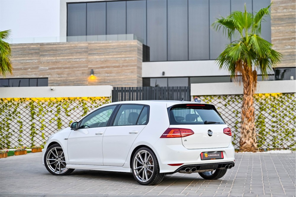 buy slightly used Volkswagen Golf R without downpayment