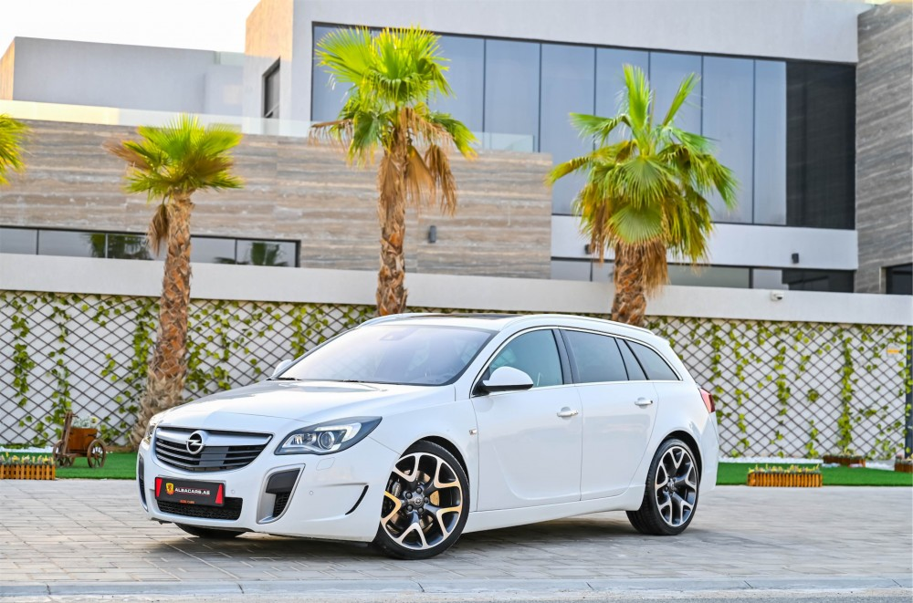 buy used Opel Insignia OPC with warranty