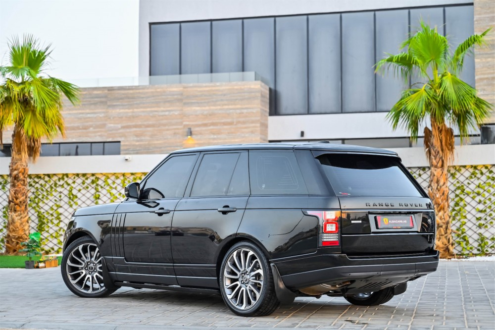 buy slightly used Range Rover Vogue Autobiography without downpayment