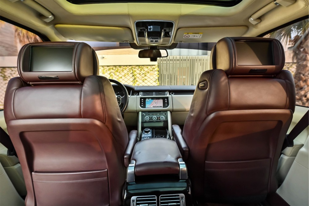 buy slightly used Range Rover Vogue Autobiography with warranty