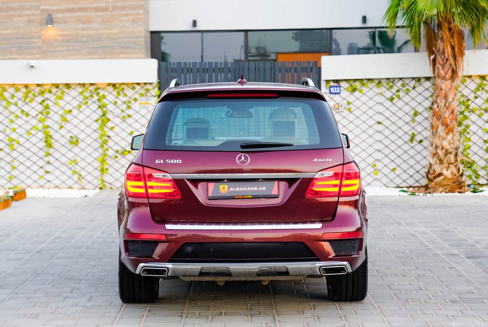 buy slightly used Mercedes-Benz GL500 with warranty