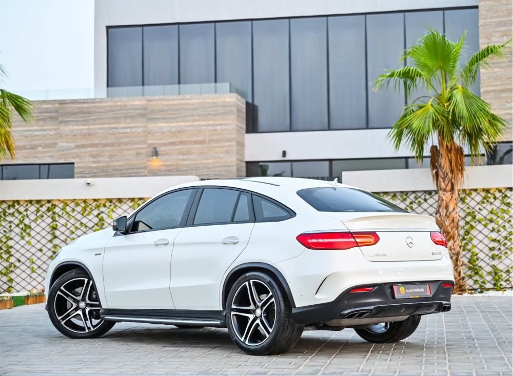 buy slightly used Mercedes-Benz GLE43 AMG with warranty