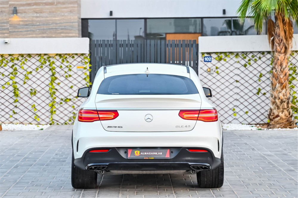buy second hand Mercedes-Benz GLE43 AMG in UAE