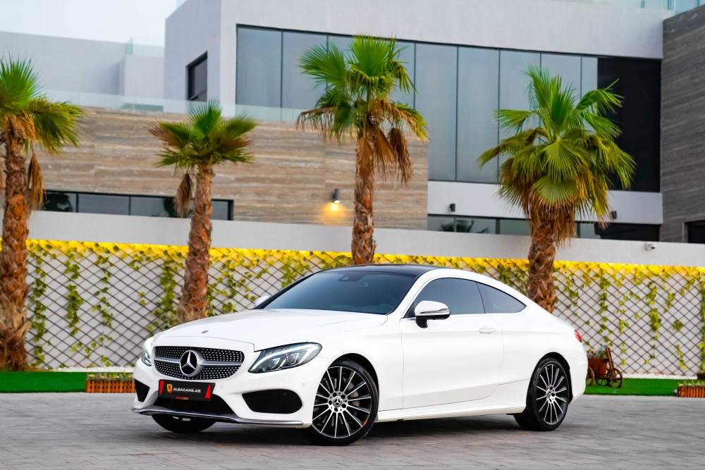 buy approved Mercedes C300 AMG Coupe in UAE