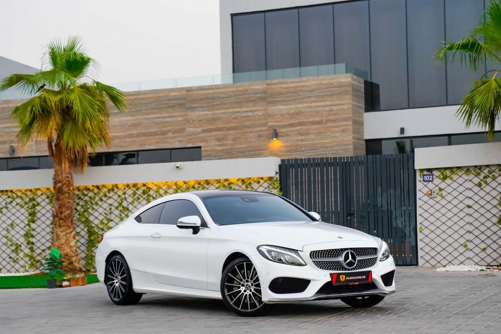 buy pre-owned Mercedes C300 AMG Coupe with warranty