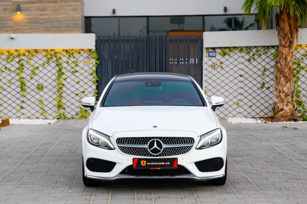 buy used Mercedes C300 AMG Coupe in Dubai