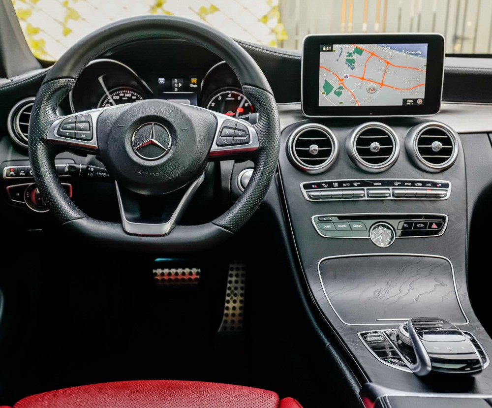 buy approved Mercedes C300 AMG Coupe in Dubai