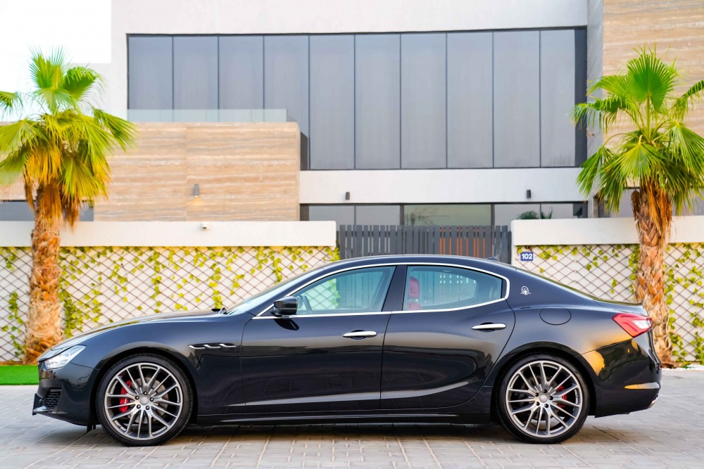 buy slightly used Maserati Ghibli S without downpayment
