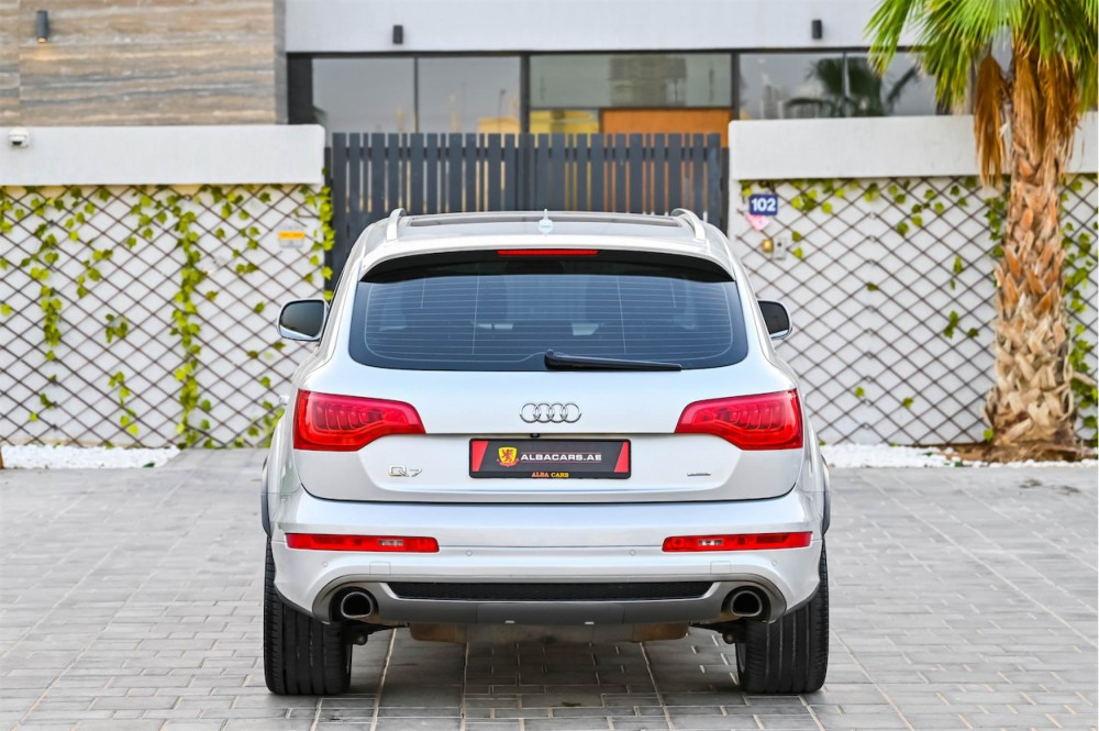 buy second hand Audi Q7 S-Line without downpayment