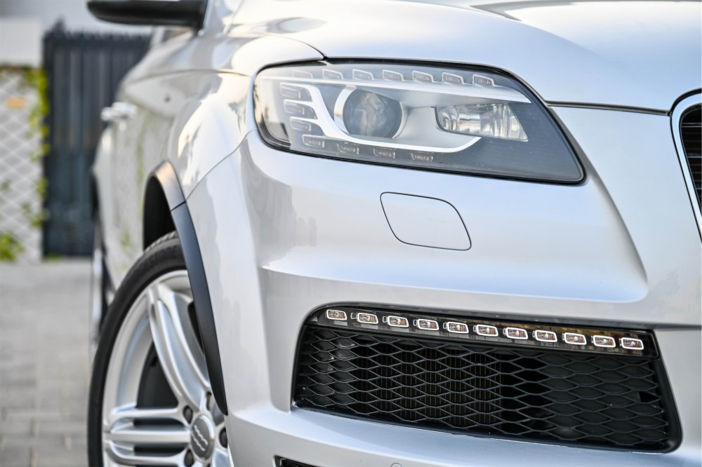 buy pre-owned Audi Q7 S-Line with warranty