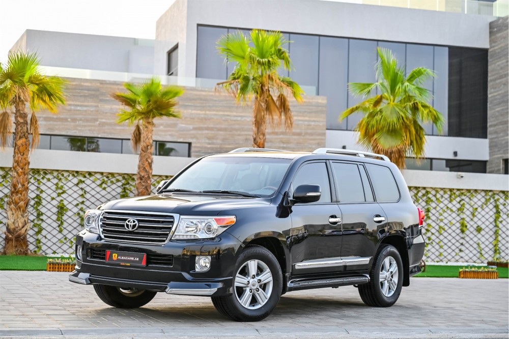 buy slightly used Toyota Land Cruiser GXR V6 without downpayment