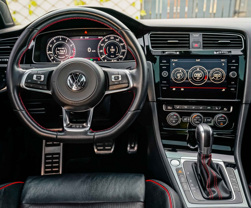 buy slightly used Volkswagen Golf GTI without downpayment