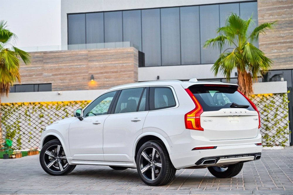 buy used Volvo XC90 R-Design with warranty