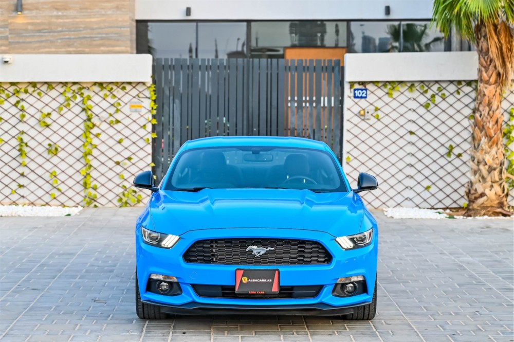 buy slightly used Ford Mustang in Dubai