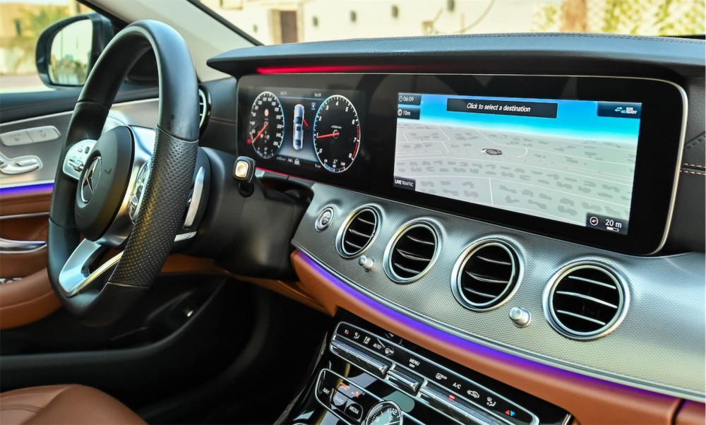 buy used Mercedes-Benz E300 with warranty