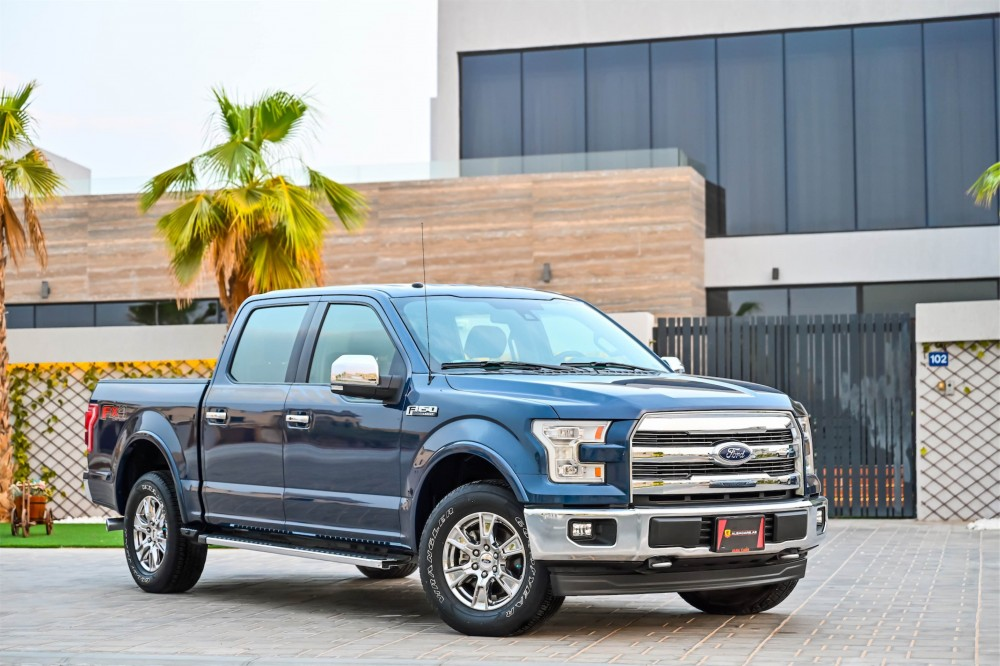 buy second hand Ford F-150 Lariat FX4 Super Crew without downpayment
