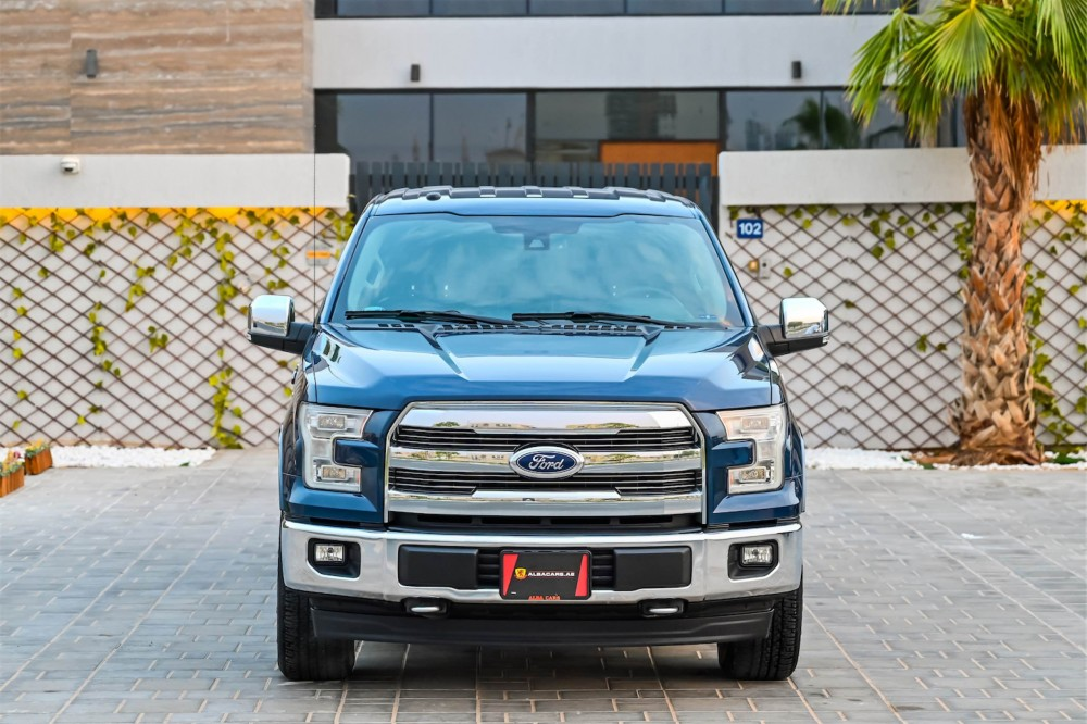 buy used Ford F-150 Lariat FX4 Super Crew with warranty
