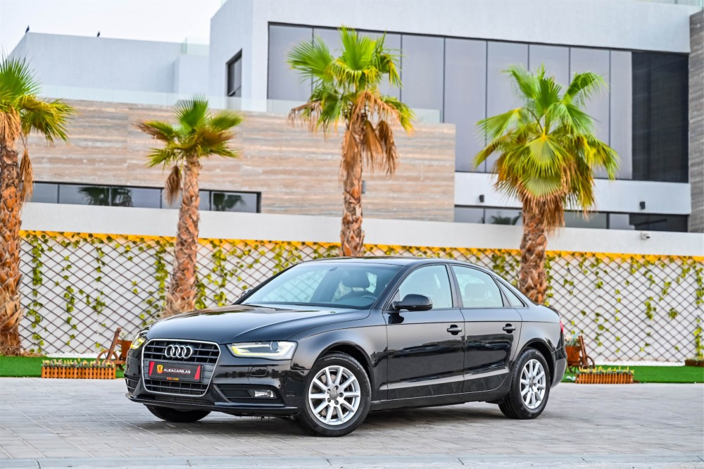 buy second hand Audi A4 with warranty