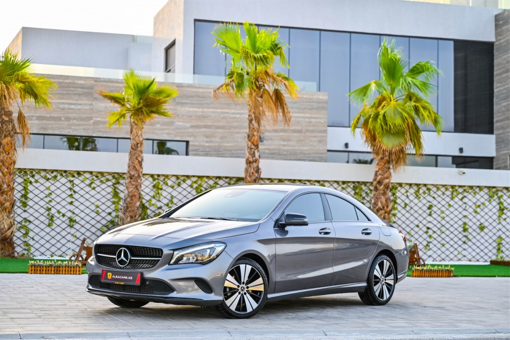buy approved Mercedes CLA200 in Dubai