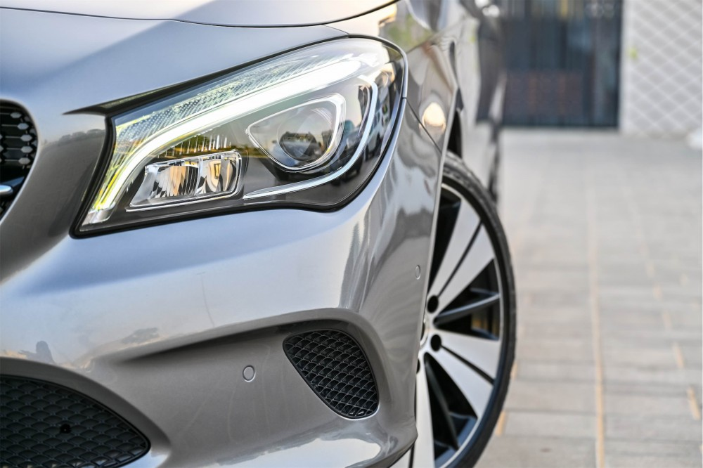 buy slightly used Mercedes CLA200 without downpayment