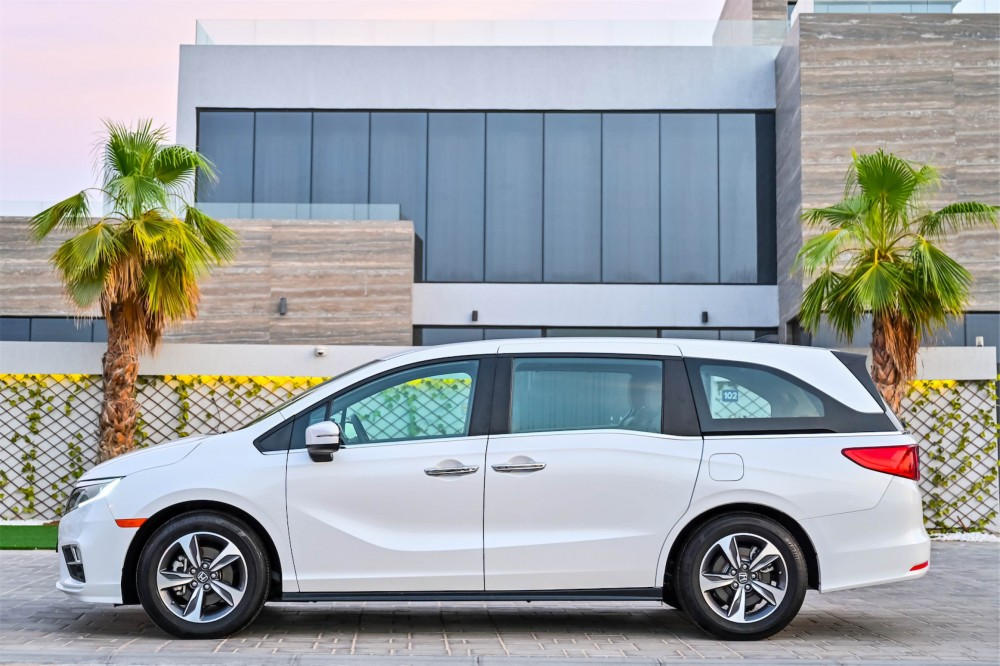buy used Honda Odyssey without downpayment