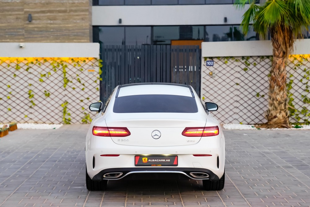 buy used Mercedes-Benz E200 Coupe without downpayment