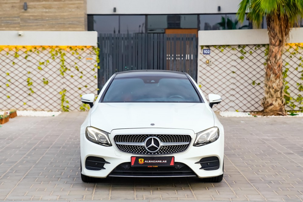 buy used Mercedes-Benz E200 Coupe in UAE