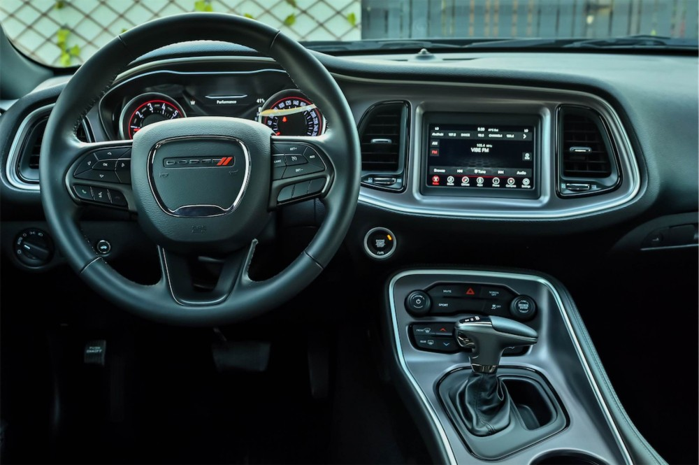 buy used Dodge Challenger with warranty