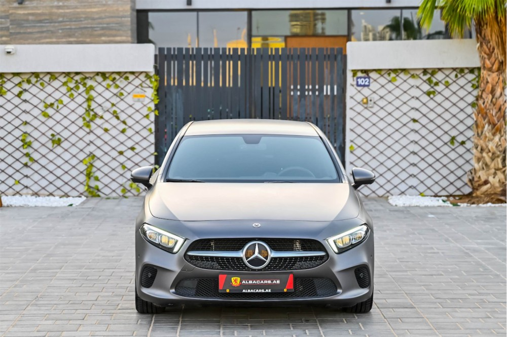 buy slightly used Mercedes-Benz A200 without downpayment