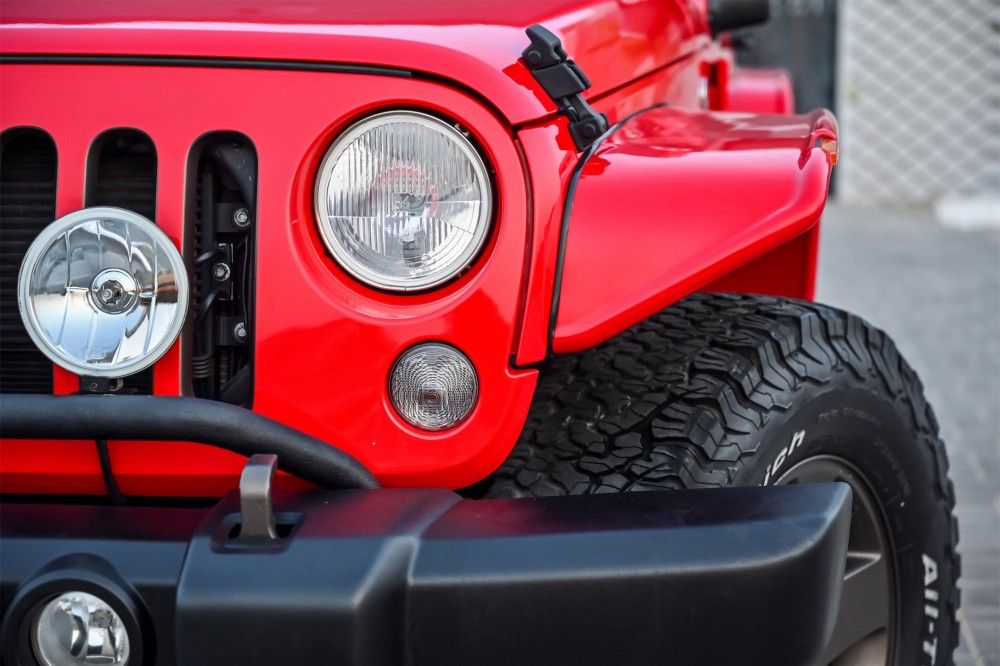 buy second hand Jeep Wrangler Desert Eagle without downpayment
