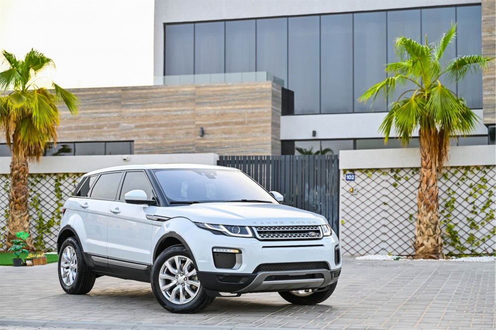 buy pre-owned Range Rover Evoque without downpayment