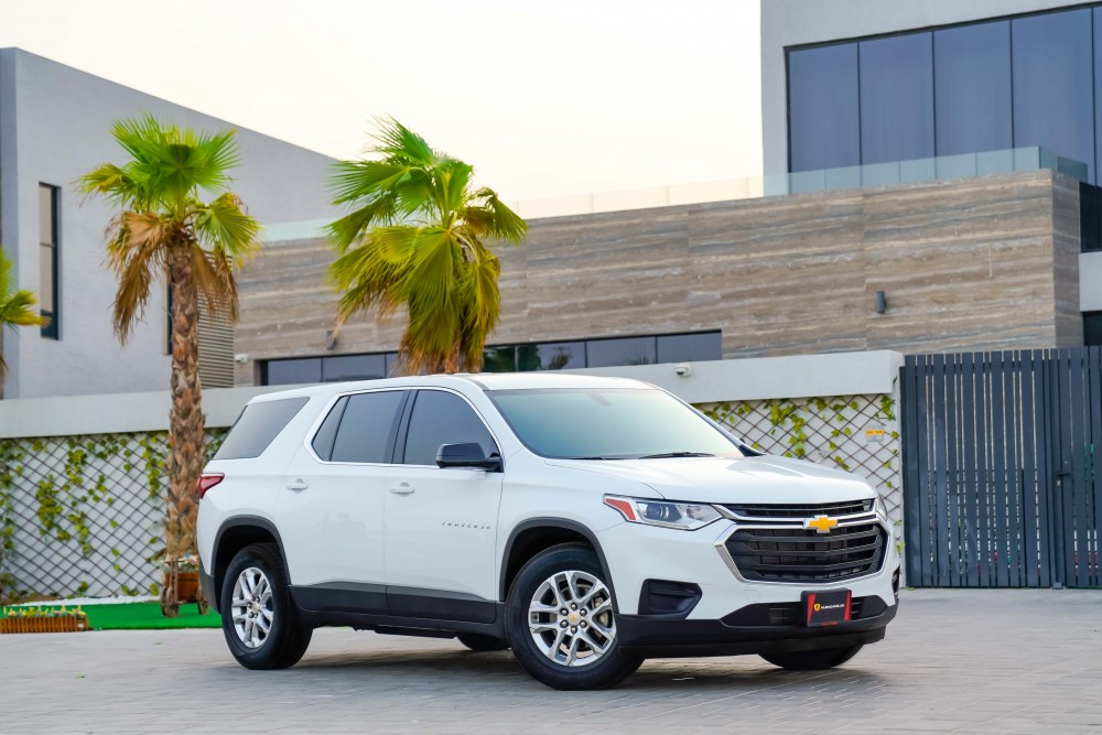 buy second hand Chevrolet Traverse LS 3.6L V6 in UAE