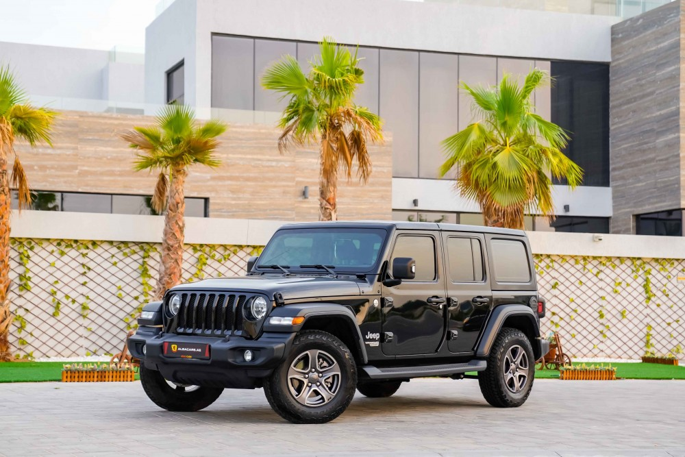 buy used Jeep Wrangler Unlimited without downpayment