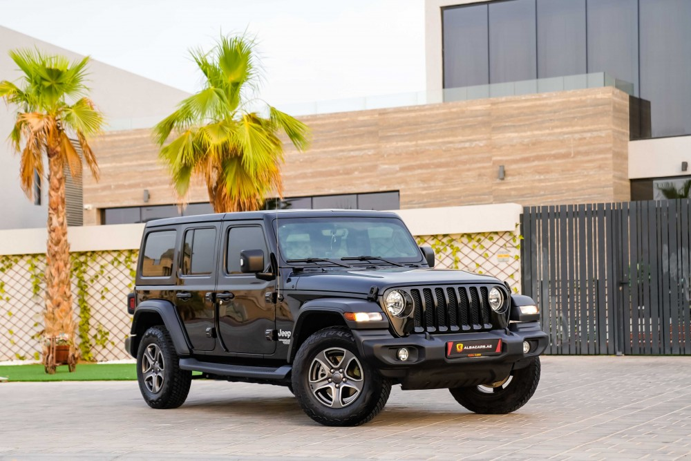 buy second hand Jeep Wrangler Unlimited in UAE