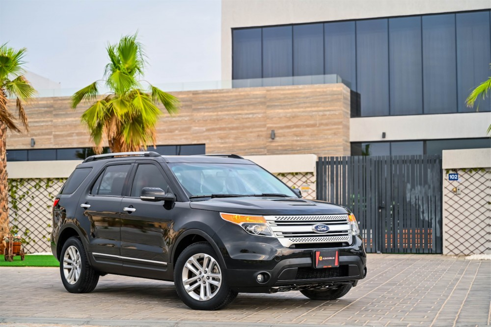 buy second hand Ford Explorer XLT without downpayment