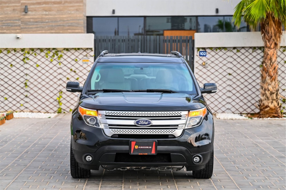 buy slightly used Ford Explorer XLT without downpayment
