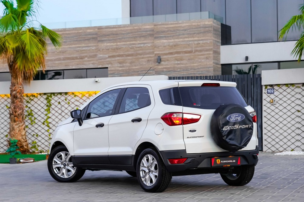 buy slightly used Ford EcoSport with warranty