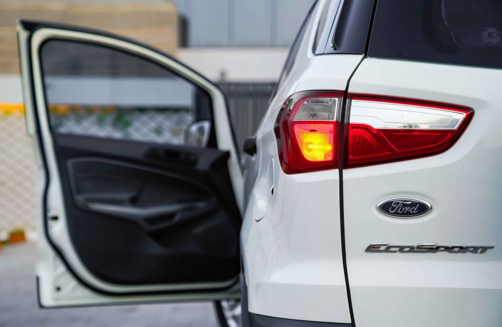 buy used Ford EcoSport with warranty