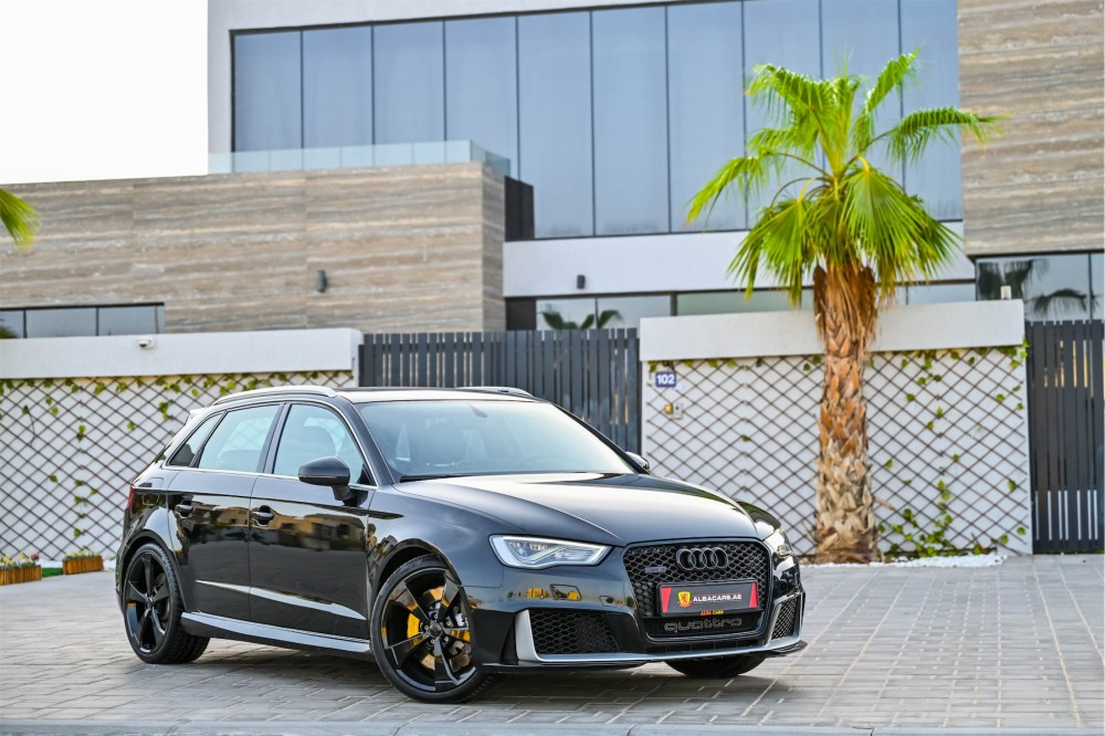 buy used Audi RS3 without downpayment