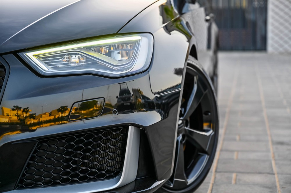 buy slightly used Audi RS3 with warranty