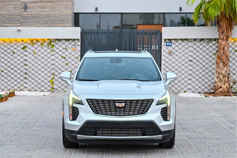 buy slightly used Cadillac XT4 Luxury without downpayment