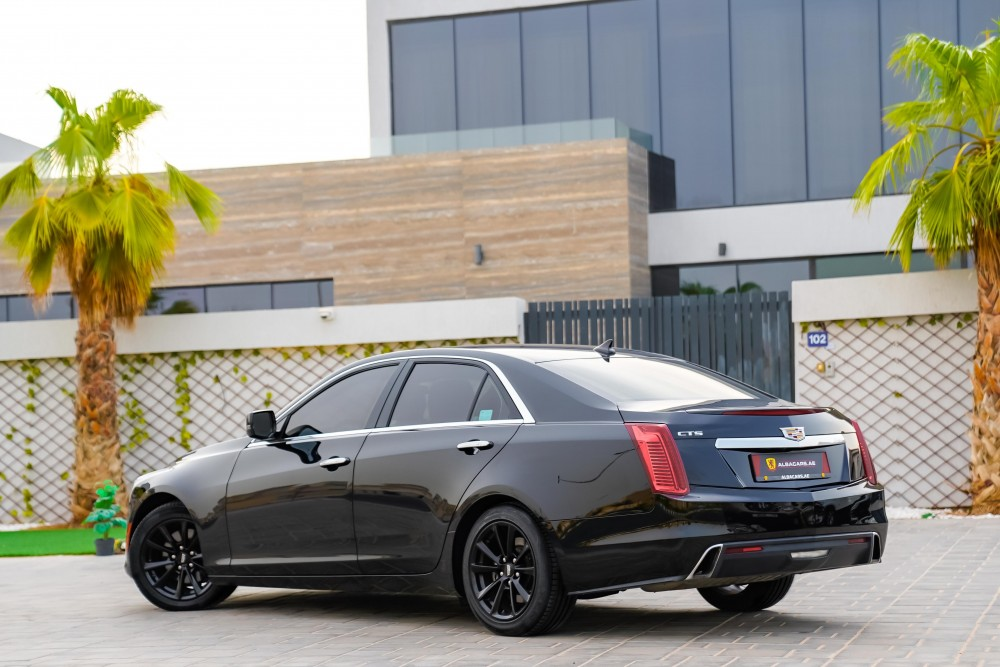 buy pre-owned Cadillac CTS with warranty