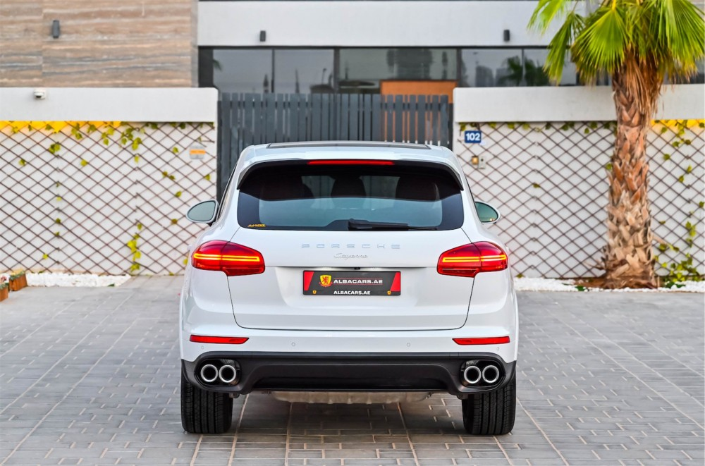 buy certified Porsche Cayenne Platinum Edition without downpayment