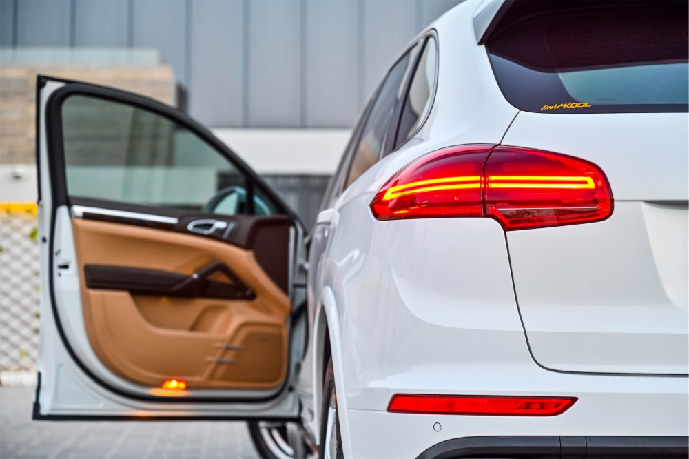 buy used Porsche Cayenne Platinum Edition without downpayment