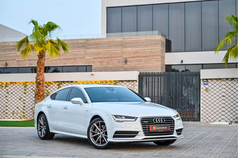 buy approved Audi A7 S-Line New Shape with warranty