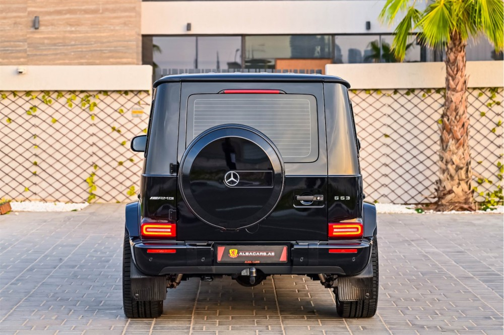 buy second hand Mercedes G63 AMG with warranty