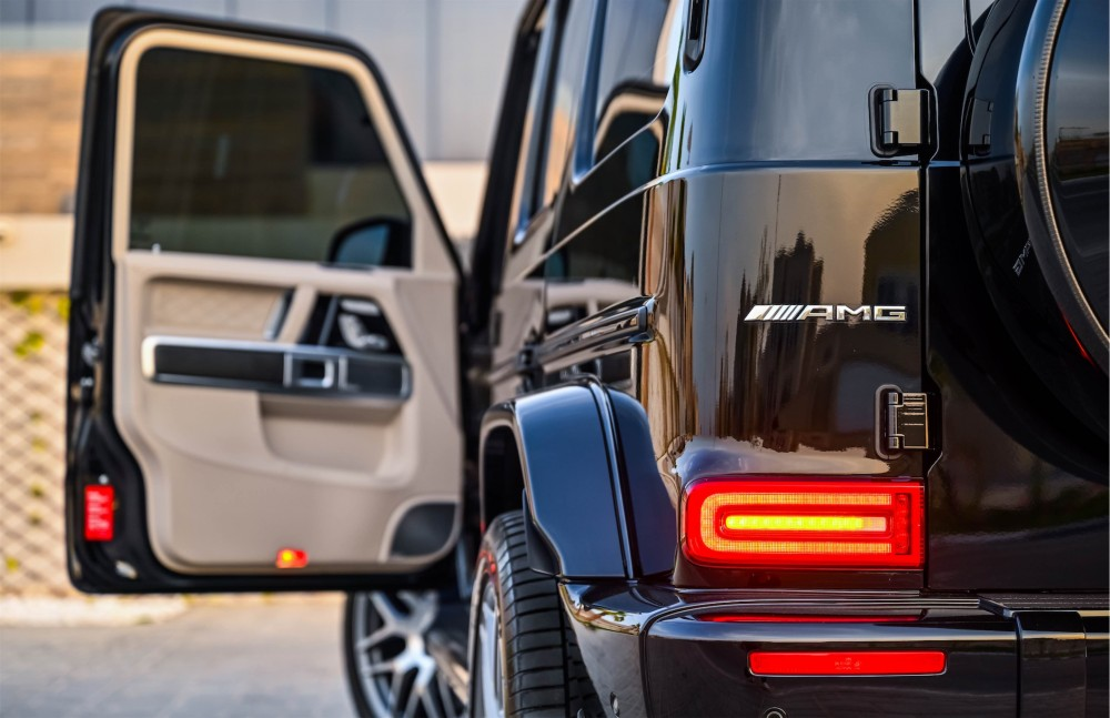 buy used Mercedes G63 AMG with warranty