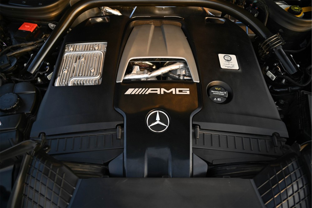 buy pre-owned Mercedes G63 AMG with warranty