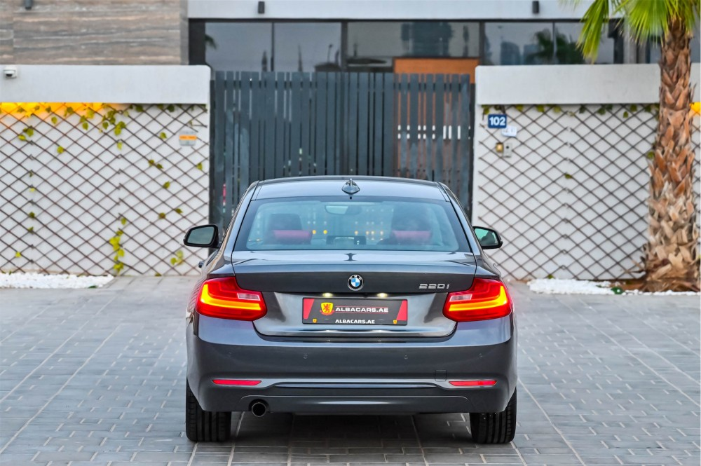 buy pre-owned BMW 220i Sport Coupe in Dubai